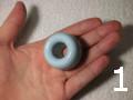 ドーナツ型の磁器